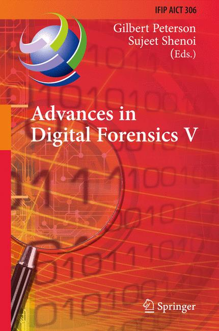 Cover of 'Advances in Digital Forensics V'