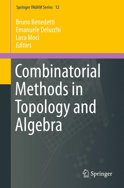 Cover of 'Combinatorial Methods in Topology and Algebra'