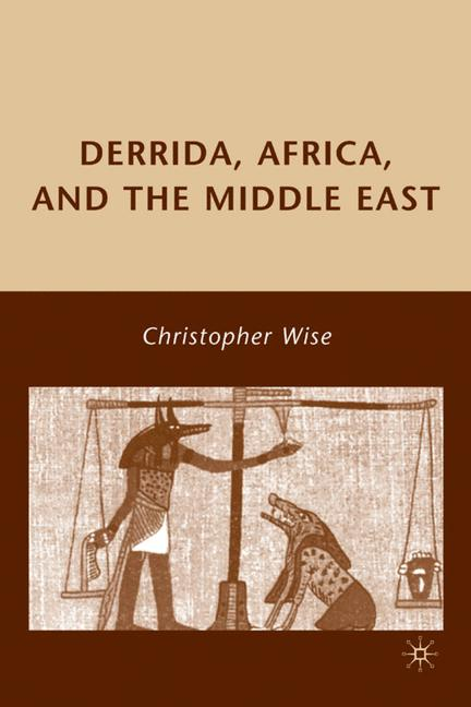 Cover of 'Derrida, Africa, and the Middle East'