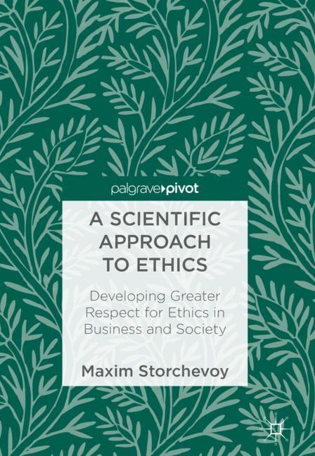 Cover of 'A Scientific Approach to Ethics'