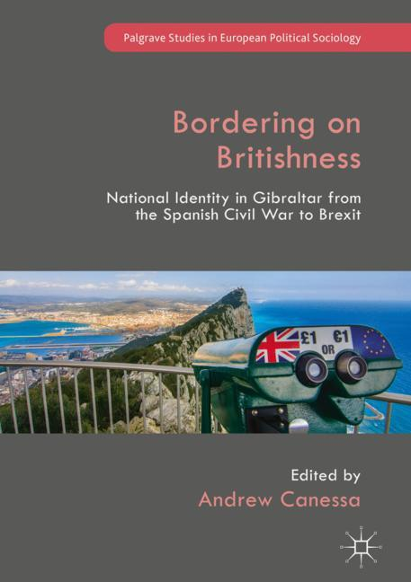 Cover of 'Bordering on Britishness'