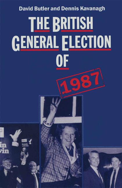 Cover of 'The British General Election of 1987'