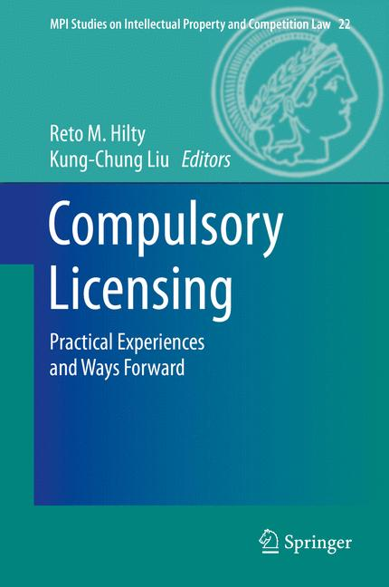 Cover of 'Compulsory Licensing'