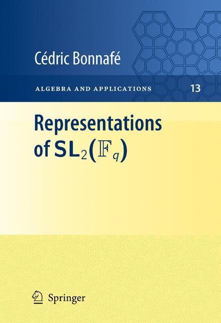 Cover of 'Representations of SL2(Fq)'