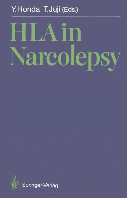Cover of 'HLA in Narcolepsy'
