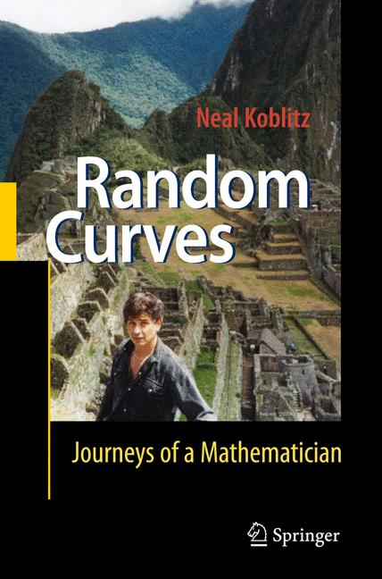 Cover of 'Random curves : journeys of a mathematician'