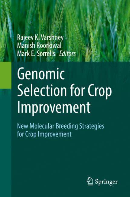 Cover of 'Genomic Selection for Crop Improvement'