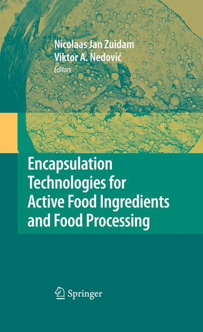 Cover of 'Encapsulation Technologies for Active Food Ingredients and Food Processing'