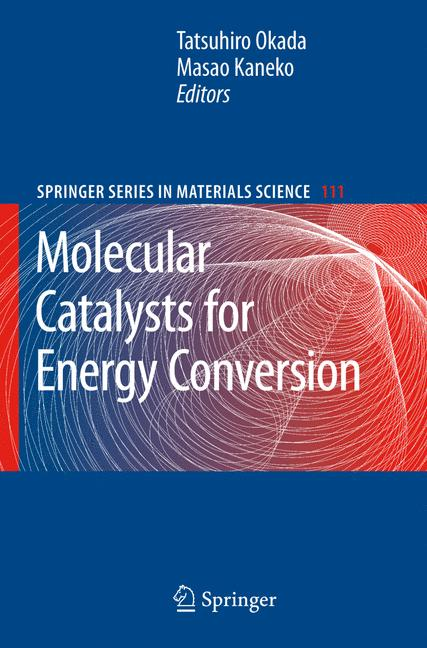 Cover of 'Molecular Catalysts for Energy Conversion'