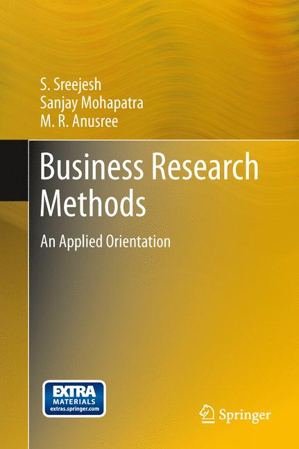 Cover of 'Business Research Methods'
