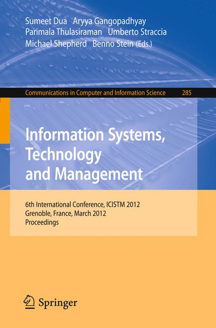 Cover of 'Information Systems, Technology and Management'