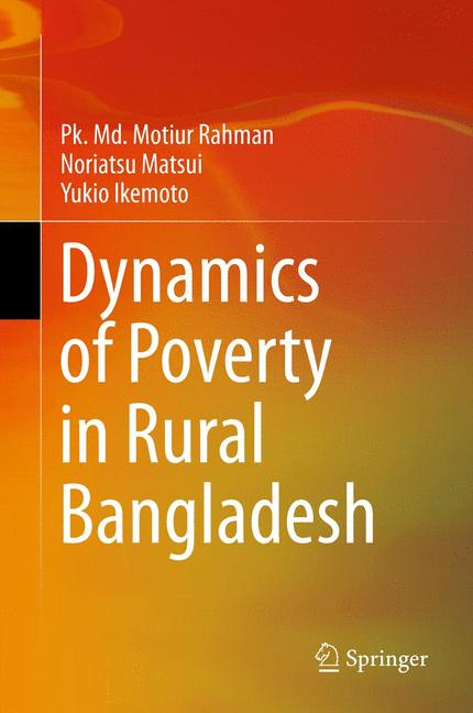 Cover of 'Dynamics of Poverty in Rural Bangladesh'