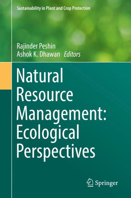 Cover of 'Natural Resource Management: Ecological Perspectives'
