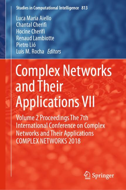 Cover of 'Complex Networks and Their Applications VII'