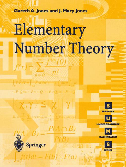 Cover of 'Elementary Number Theory'