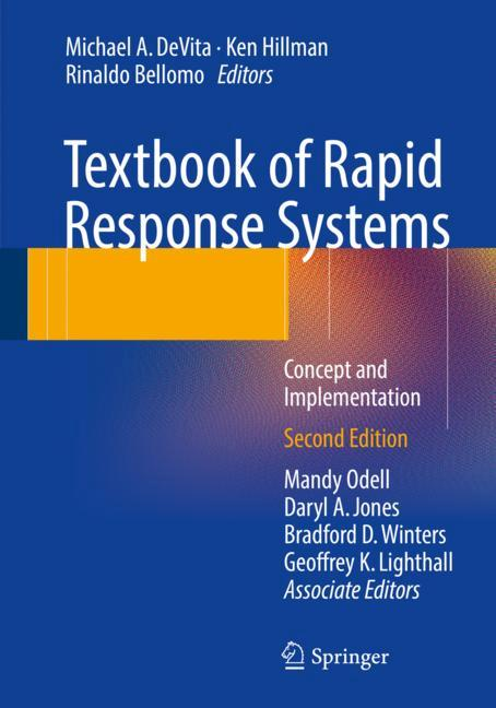Cover of 'Textbook of Rapid Response Systems'
