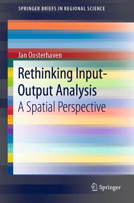 Cover of 'Rethinking Input-Output Analysis'