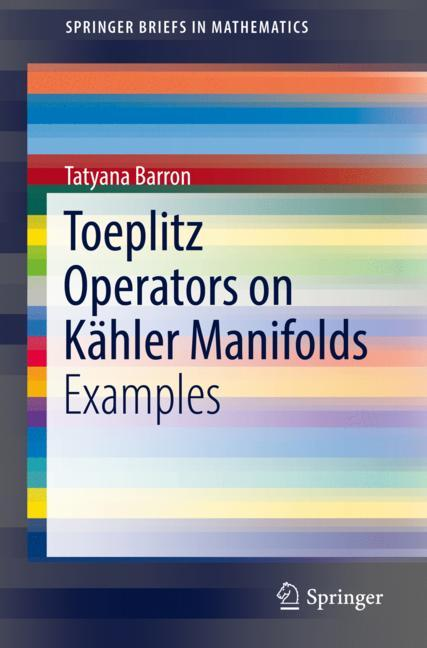 Cover of 'Toeplitz Operators on Kähler Manifolds'