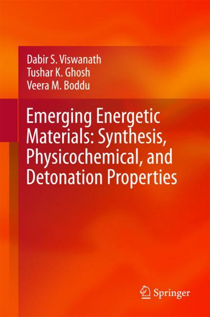 Cover of 'Emerging Energetic Materials: Synthesis, Physicochemical, and Detonation Properties'