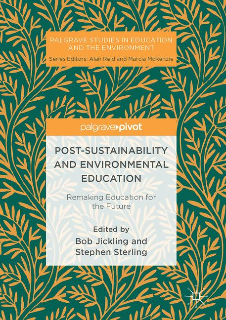 Cover of 'Post-Sustainability and Environmental Education'