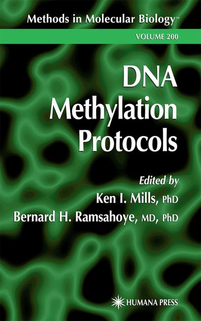 Cover of 'DNA Methylation Protocols'