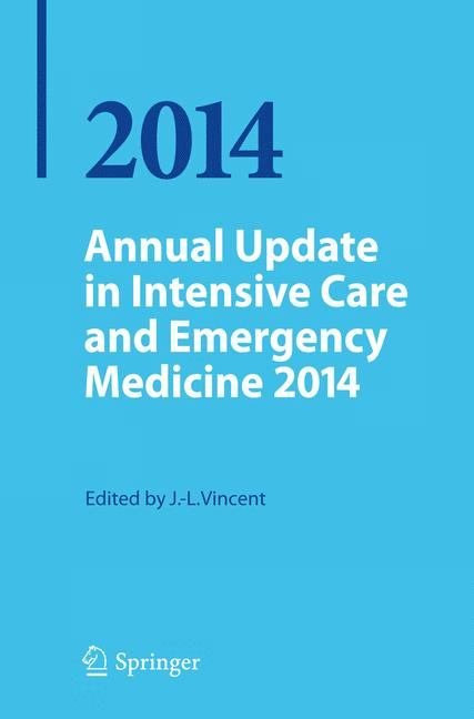 Cover of 'Annual Update in Intensive Care and Emergency Medicine 2014'