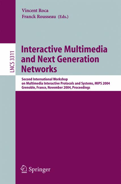 Cover of 'Interactive Multimedia and Next Generation Networks'