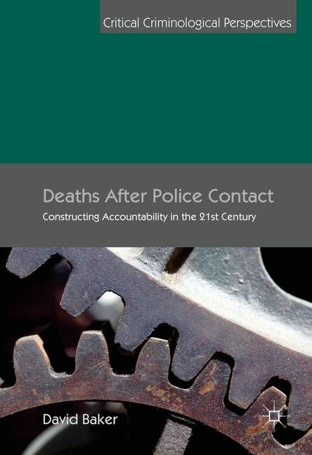 Cover of 'Deaths After Police Contact'