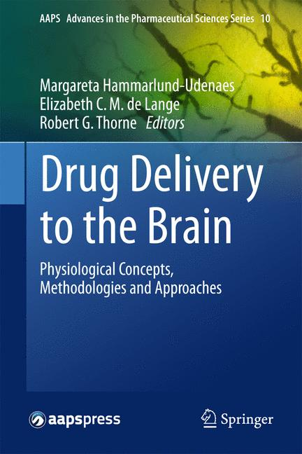 Cover of 'Drug Delivery to the Brain'