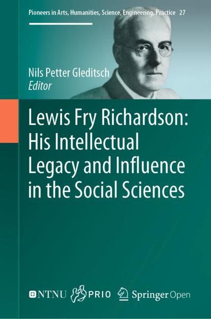 Cover of 'Lewis Fry Richardson: His Intellectual Legacy and Influence in the Social Sciences'