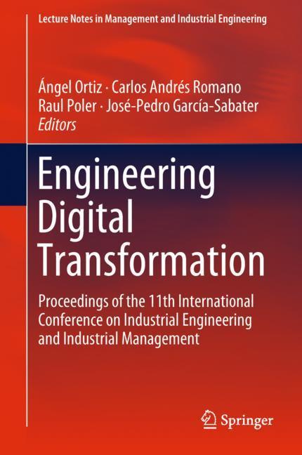 Cover of 'Engineering Digital Transformation'