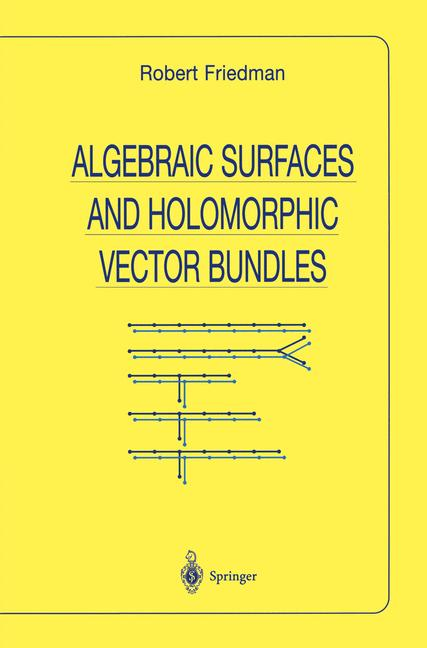 Cover of 'Algebraic Surfaces and Holomorphic Vector Bundles'
