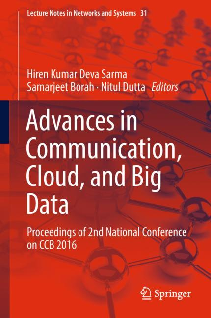 Cover of 'Advances in Communication, Cloud, and Big Data'
