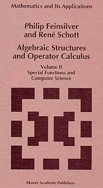 Cover of 'Algebraic structures and operator calculus'