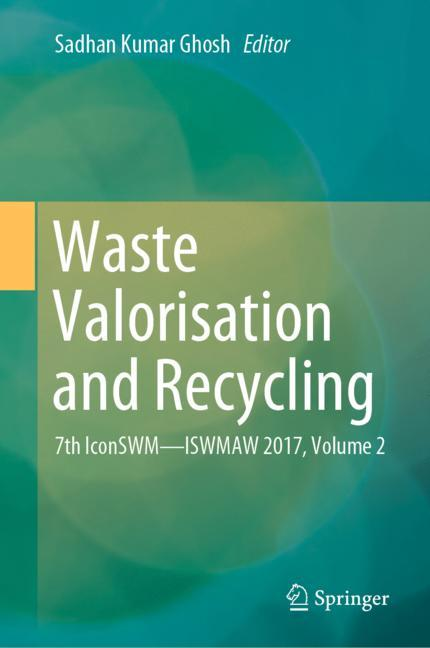 Cover of 'Waste Valorisation and Recycling'