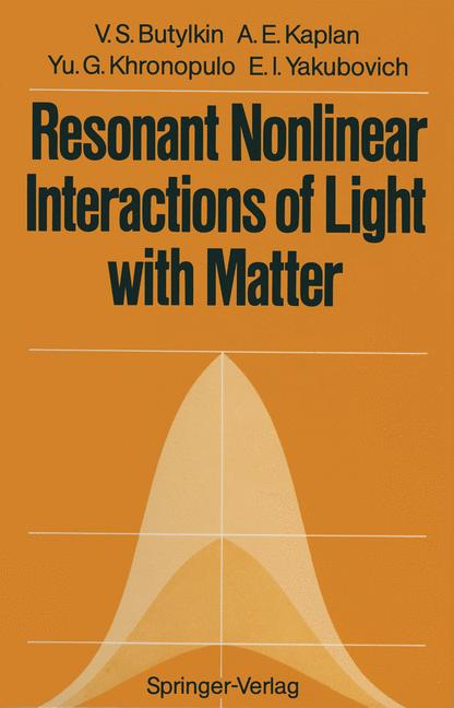 Cover of 'Resonant Nonlinear Interactions of Light with Matter'