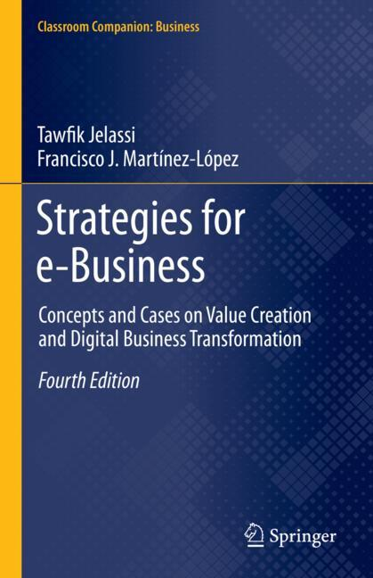 Cover of 'Strategies for e-Business'