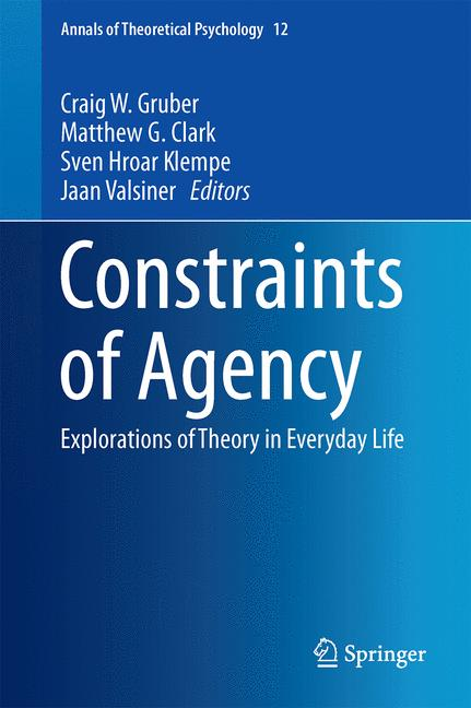 Cover of 'Constraints of Agency'