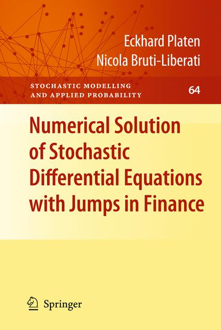 Cover of 'Numerical Solution of Stochastic Differential Equations with Jumps in Finance'