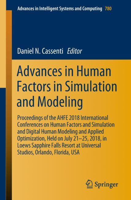 Cover of 'Advances in Human Factors in Simulation and Modeling'