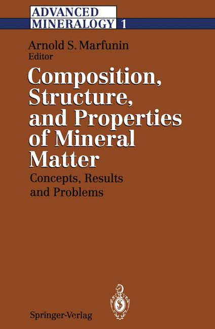 Cover of 'Advanced Mineralogy'