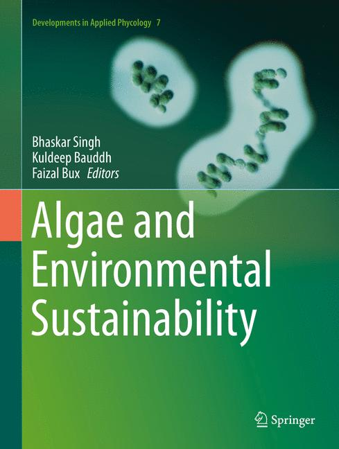 Cover of 'Algae and Environmental Sustainability'