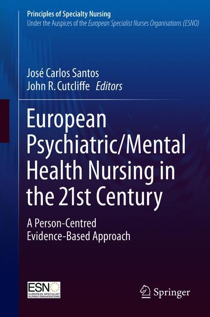 Cover of 'European Psychiatric/Mental Health Nursing in the 21st Century'