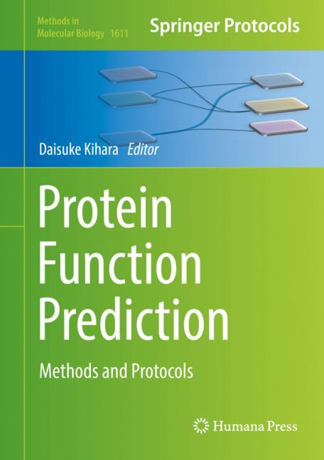 Cover of 'Protein Function Prediction'