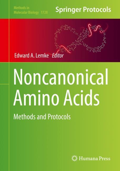 Cover of 'Noncanonical Amino Acids'