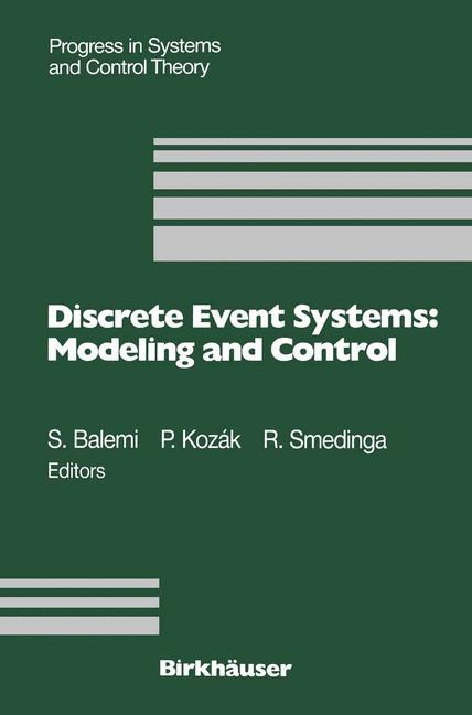 Cover of 'Discrete Event Systems: Modeling and Control'