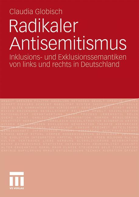 Cover of 'Radikaler Antisemitismus'