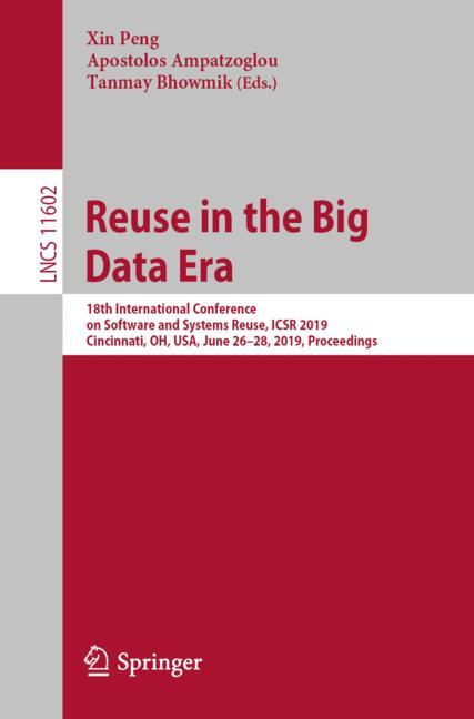 Cover of 'Reuse in the Big Data Era'