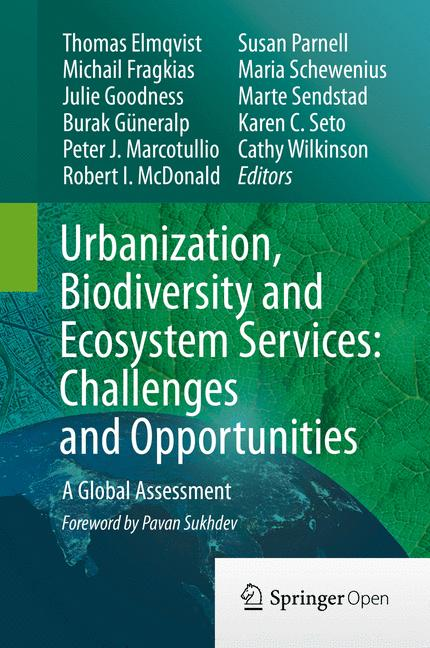 Cover of 'Urbanization, Biodiversity and Ecosystem Services: Challenges and Opportunities'