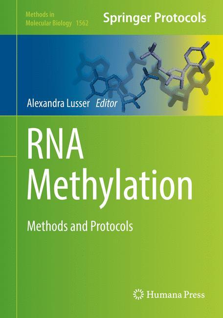 Cover of 'RNA Methylation'